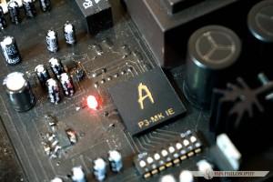 Tu w samym centrum znajduje się oczko w głowie konstruktora - procesor z linii P.
