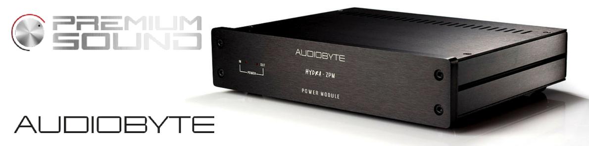 Newsy: Zasilacz marki Audiobyte