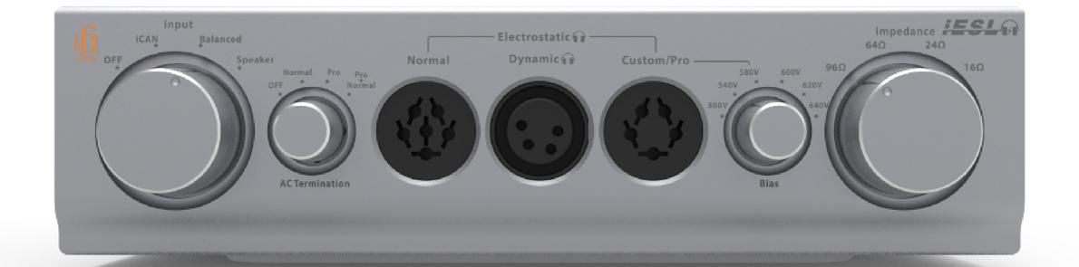 Newsy: Pro iESL – energizer elektrostatyczny marki iFi Audio.