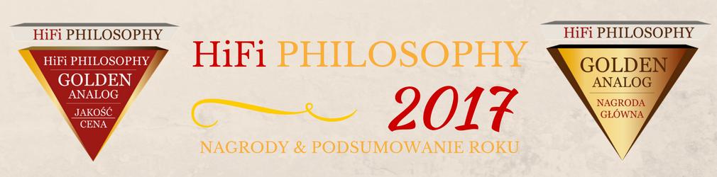 Wydarzenie: Nagrody i podsumowanie roku 2017 HiFi Philosophy